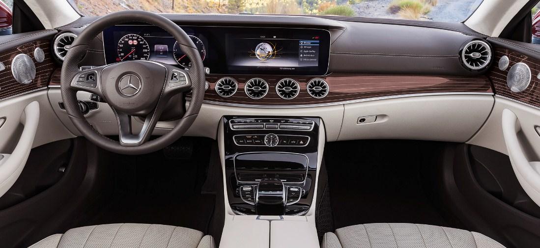 2018 Mercedes Benz E Class Coupe 4