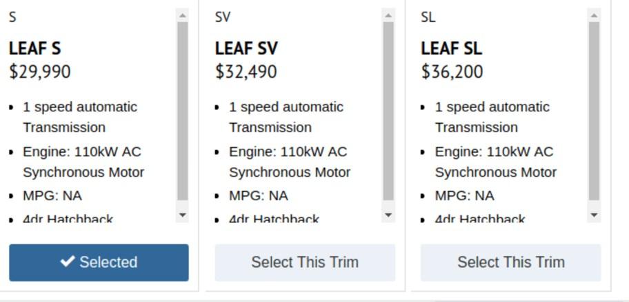 2018 nissan leaf price.  nissan 2018 nissan leaf specs 1 inside nissan leaf price