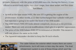 2018 Subaru WRX STI 250x166