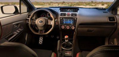 2018 Subaru WRX STI Interior 400x192