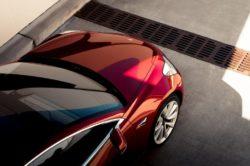 2018 Tesla Model 3 Red 250x166