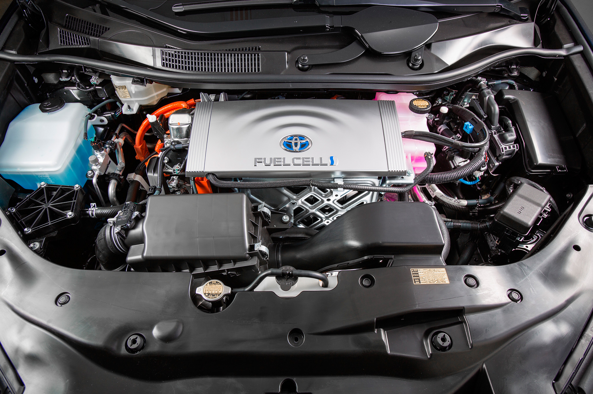 2018 Toyota Mirai engine