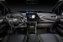 2018 Toyota Mirai interior 2 250x166