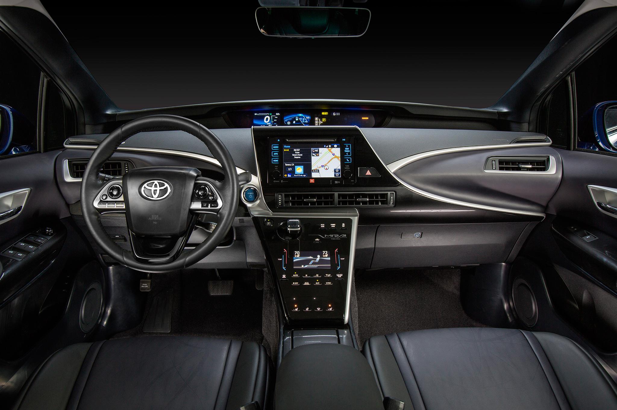 2018 Toyota Mirai interior 2