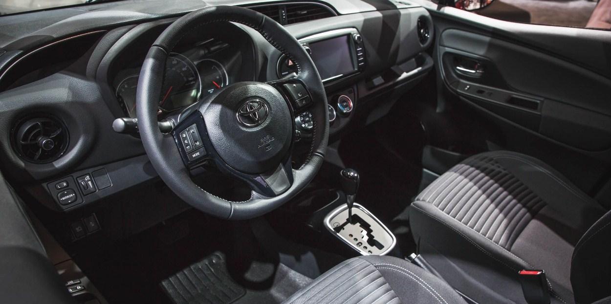2018 Toyota Yaris Interior