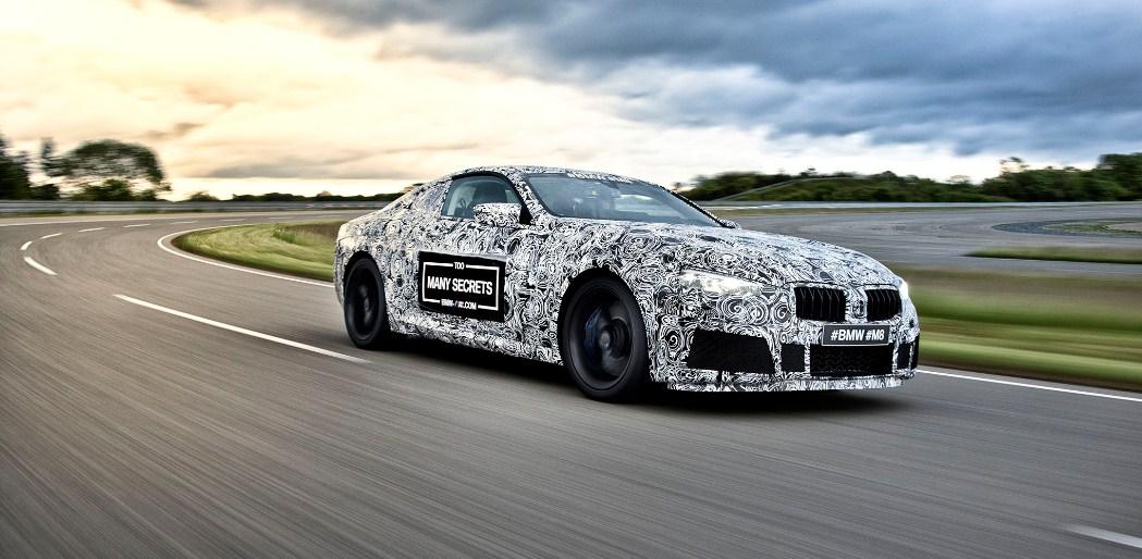 2019 BMW M8 1