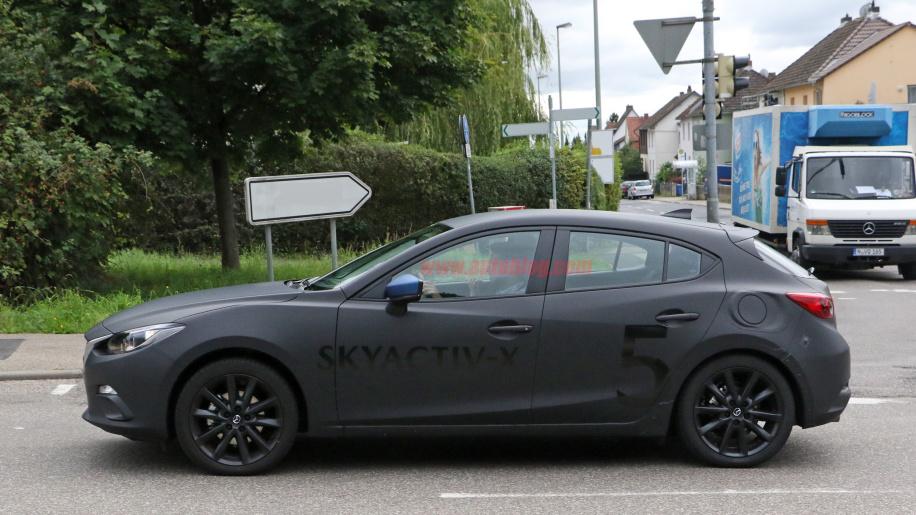 2019 Mazda 3 spy