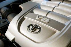 2019 Toyota Land Cruiser engine 250x166