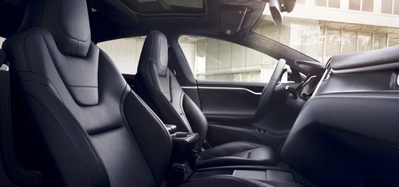 Tesla Model Interior 810x380