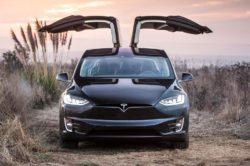 Tesla Model X front 250x166